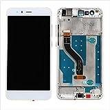 HUAWEI P10 LITE Display im Komplettset LCD Ersatz Für Touchscreen Glas Reparatur (Weiß + Rahmen)