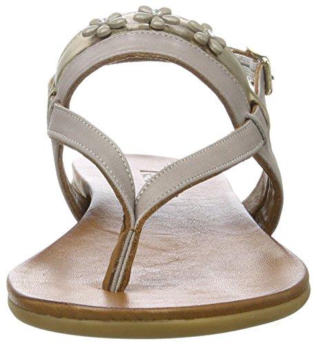 Inuovo 7295, Tongs Femme Grau (Grey-Gold)