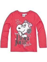 Snoopy - Camiseta de manga larga - para niña
