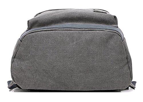 Ghlee Laptop Rucksack 14 Zoll mit USB-Lade-Port Anti-Diebstahl Geschäftsreise Rucksack Checkpoint freundliche Tasche Schulschule Rucksack gepolstert Laptop Khaki Schwarz