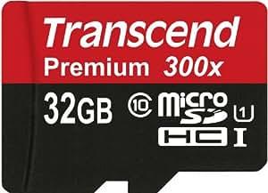 Transcend microSDHC UHS-I Premium 32GB Class 10 Memory Card