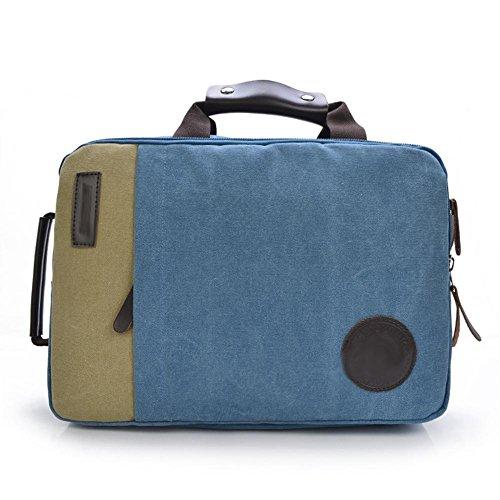 SZH&BEIB Unisexsegeltuch-Rucksack beiläufige Art und Weise im Freien Travel Gear Schule oder Arbeit Laptop-Tasche D