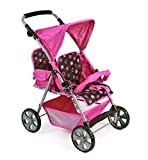 Bayer Chic 2000 688 48 - Zwillings-Buggy Tandem, Pinky Balls