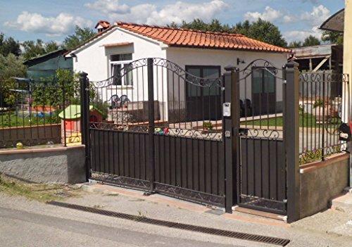 Cancello pedonale ferro battuto . realizzazioni personalizzate . 193