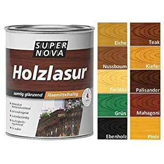 Super Nova Dauer-Lasur Schutz samtig gläzend 0,75l