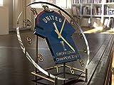 Manchester United FC Football Club–Europa League/UEFA Cup Winners 2016/17Gedenkmünzen Schreibtisch Uhr–Marke neue Acryl Shirt Design.