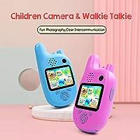 كاميرا الأطفال، كاميرا فوميند للأطفال، عدسة مزدوجة 8 ميجابيكسل، شاشة اي بي اس 2.0 بوصة، ذاكرة ممتدة مدمجة في البطارية والموسيقى ومؤقت اللعبة للتصوير والتركيز التلقائي KPKPD7652BL