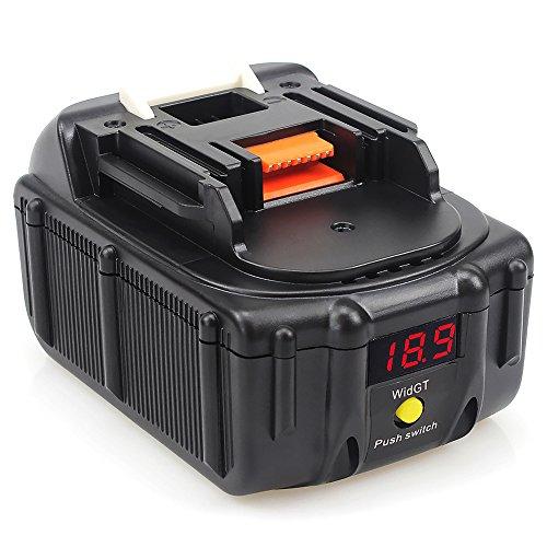 Waitley BL1830 18V Akku 6.0Ah für Makita Werkzeugakku 6000mah LXT-400 BL1860 BL1815 194205-3 Litium-Ionen Batterie mit Powerbank-Funktion