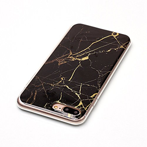 Für Apple IPhone 7 Plus Fall Marbling Texture Soft TPU Abdeckung Slim Ultra Thin Anti-Kratzer Schock Absorption Schutzmaßnahmen zurück Cover Shell ( Color : J ) D