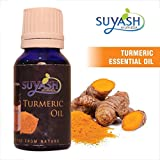 Suyash Ayurveda-100% Pure,Natural and Organic Turmeric Essential oil (15 ml)