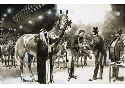 fine-art-print-of-brian-hughes-successfully-hoaxes-the-new-york-horse-show-in-1907