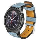 Bracelet pour cuir S3 Classic / Frontier, AISPORTS 22mm Samsung Gear S3 Bracelet de...