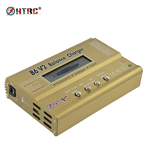 HTRC B6 V2 Balance Charger 80W 6A DC RC Multi-Charger for LiPo/LiIon/LiFe/NiCd/NiMH/LiHV/PB/Smart Battery High Power circuit