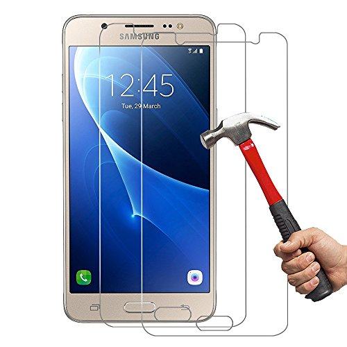 [2-Unidades] SamsungJ52016Cristal Templado Hepooya J5 2016 Protector de Pantalla para Samsung Galaxy...