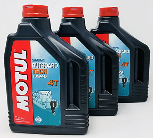 Used, Motul Marine Outboard Motors Lubricant Oil Outboard for sale  Delivered anywhere in UK