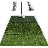 Rukket Mat Attack Tri-Turf Portable Golf Hitting Mat (25in x 16in)