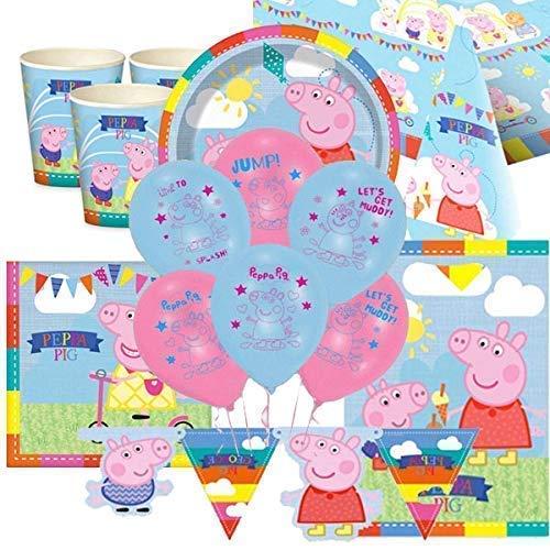 Peppa Pig Ultimate Partybedarf Packung für 8