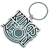 Kings of Leon - Keyring Scroll Logo (in One Size)