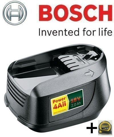 Preisvergleich Produktbild Bosch Genuine 18V - Li Akku (2.0Ah) C (keine PT 2607336921)/W KeyTape STANLEY & Cadbury Schokoriegel