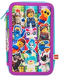 LEGO Estuche Escolar Dos Cremalleras Movie 2 Avec Lapices de Color Lapiz Mini Cuaderno