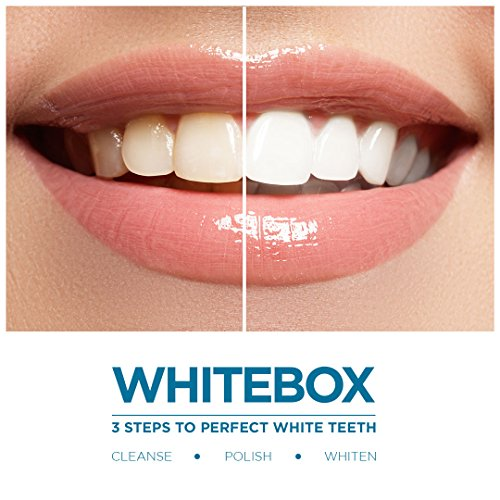 Whitebox Professional Advanced Teeth Whitening Strips Made By Uk
