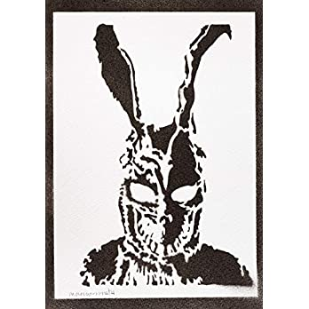 Donnie Darko Poster Frank Plakat Handmade Graffiti Street Art – Artwork