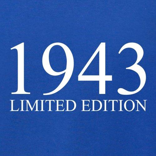 1943 Limierte Auflage / Limited Edition - 74. Geburtstag - Damen T-Shirt - 14 Farben Royalblau