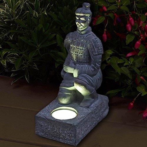 warrior-solar-light-statuette