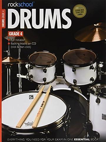 Rockschool Drums - Grade 4 (2012-2018) Book & Download