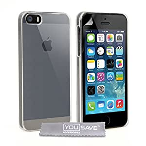 iPhone 5S Tasche Kristall Klare Harte Hülle