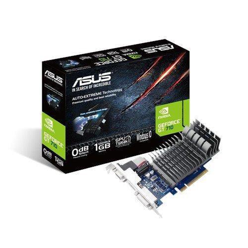 ASUS 710-2-SL-BRK NVIDIA GeForce GT 710 2GB - Tarjeta gráfica (Pasivo