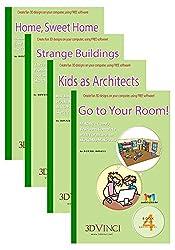 ModelMetricks Basics Series (Mac): 4-Book Set of SketchUp Projects for Kids: SketchUp 2016 and 2017