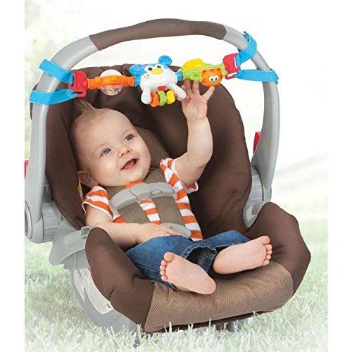 Infantino 930-216273-00 Spin & gin car seat bar, mehrfarbig