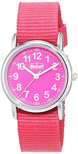 Scout Mädchen-Armbanduhr Analog Quarz Textil 280304001