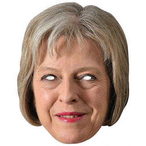 Generique - Masque Carton Theresa May