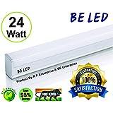BE 24-watt High Luminance Led Tube Light (Pack Of 01,Cool Day Whithe .size 2 Feet &2500 Lumins Brightness Guaranteed)(High Quality, 100% Satisfaction & 95 % Energy Saving Technology ) & 01 Yaer Worranty