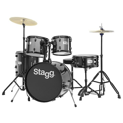 stagg-25020590-tim120b-drum-set-508-cm-20-pulgadas-5-unidades-incluye-hardware-con-cymbal-throne-neg