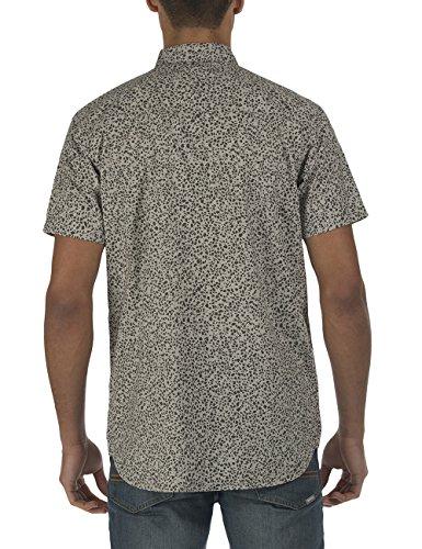 Bench Herren Freizeithemd Liberal Grau (Smoked Pearl GY149)