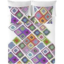 Hook Up Juego de Fundas Nórdicas Tradición Multicolor Cama 150 (240 x 220 cm)