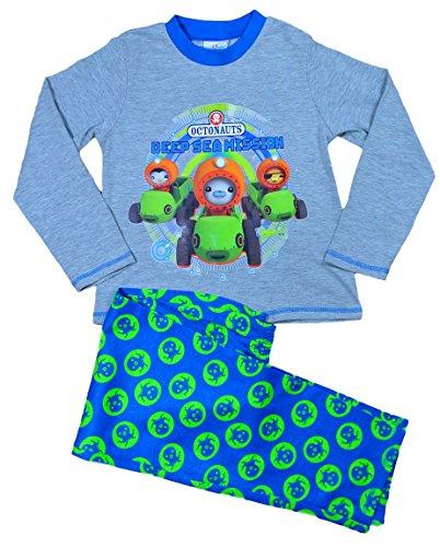 Schlafanzug Blau blau 3-4 Jahre (Octonauts Top)