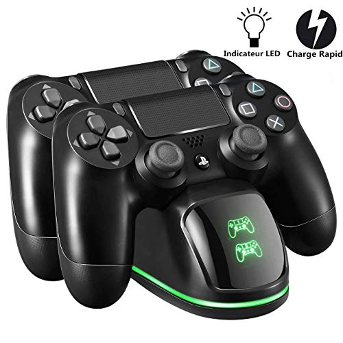 PS4 Chargeur TOPELEK Dock Station Support Double USB de...