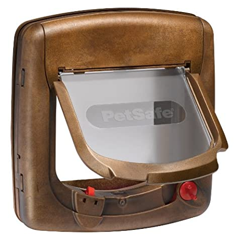 PetSafe Staywell Deluxe Magnetic Cat Flap, Woodgrain