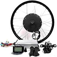 Theebikemotor 3000W Hub Motor Ebike Kit vélo électrique Moteur Kit de Conversion Cyclisme + LCD Or TFT Display+ Disc Brake Rear Wheel