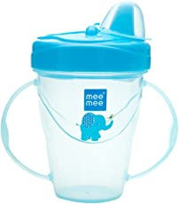 Mee Mee MM-4010C Easy Grip Sipper Cup (Blue)