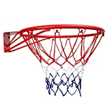 BANDRA Basketballkorb Standard Basketball Hoop mit Basketballnetz Fürs Zimmer Indoor Outdoor
