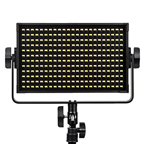 Bargain VILTROX VL-S50B 50W 4500LM Dimmable Video LED Panel Photography Studio Lighting LED Light for Video DV Camera Camcorder, with Metal Frame and Remote Controller, 5600K/CRI 95+ Online