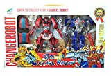 #3: Transformers Robots in Disguise Force - Set of 2 Deforming Autobots Light - Sound -Action -Big Size