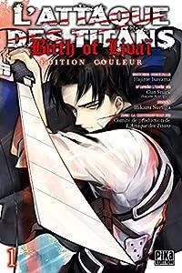 L'Attaque des Titans : Birth of Livaï Edition couleur Tome 1