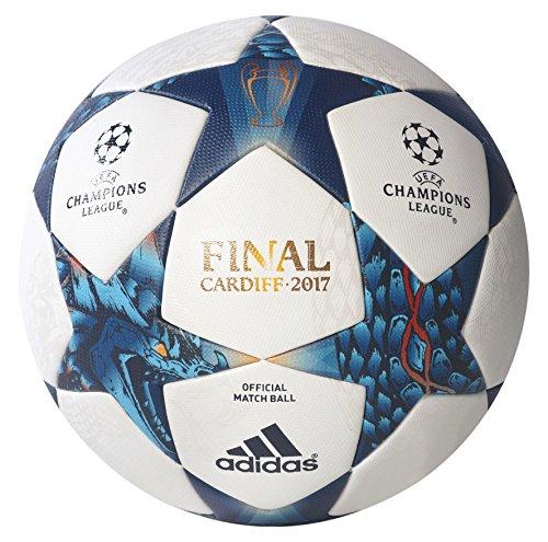 adidas Finale Cdf Omb Balón de Fútbol, Hombre, Blanco (Blanco / Azumis / Turque), 5