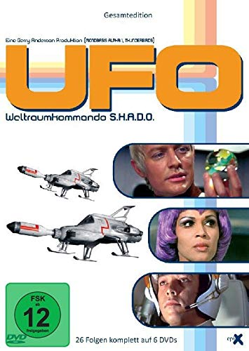 Kostüm Pille - UFO - Weltraumkommando S.H.A.D.O. (Gesamtedition, 26 Folgen) [6 DVDs]